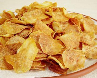 Chips de Batata Doce Fitness