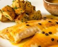 Molho Fit de Maracujá para Peixes e Saladas