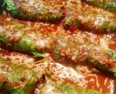 Charuto de Couve Com Carne Moída