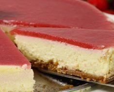 Cheesecake de Morango Light