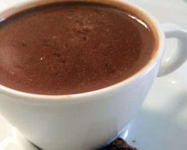 Chocolate Quente Super Cremoso Fit