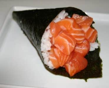 Temaki Light Salmão