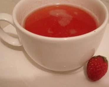 Como Preparar Chá de Morango