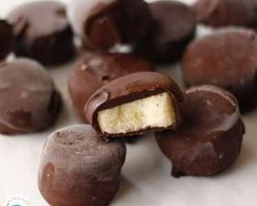 Frutas com Chocolate Light