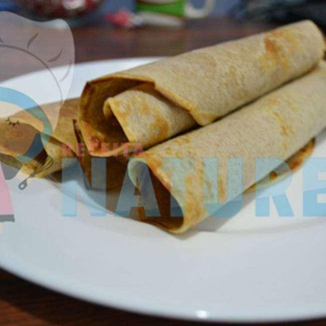 Massa-de-Panqueca-Integral-Sem-Farinha-Branca Café da Manhã Para o Dia das Mães