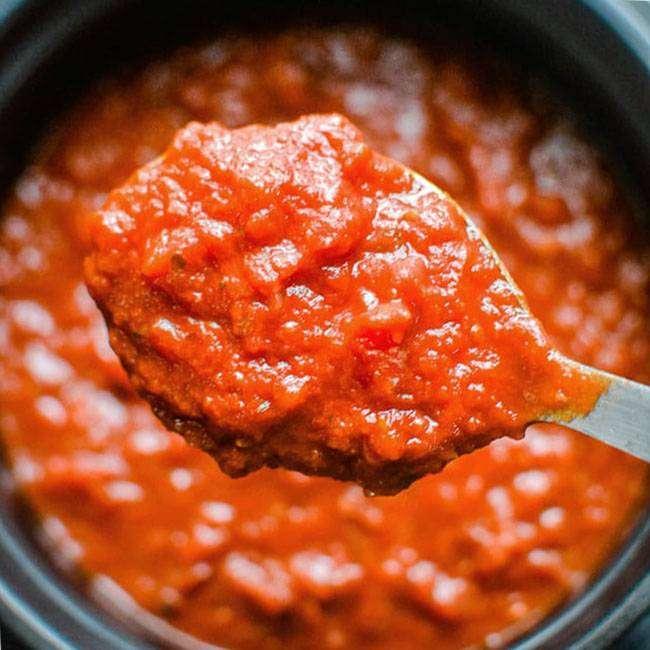 Molho-de-Tomate-Caseiro Molho de Tomate Caseiro