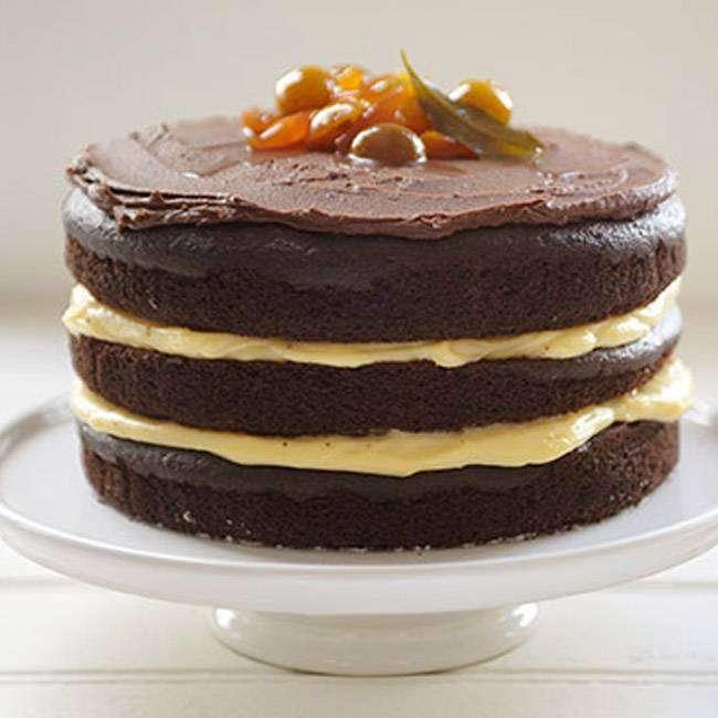 Naked-Cake-de-Cacau-com-Beijinho-Vegano Naked Cake de Cacau com Beijinho Vegano