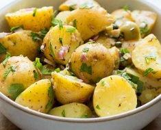 Salada Simples de Batata