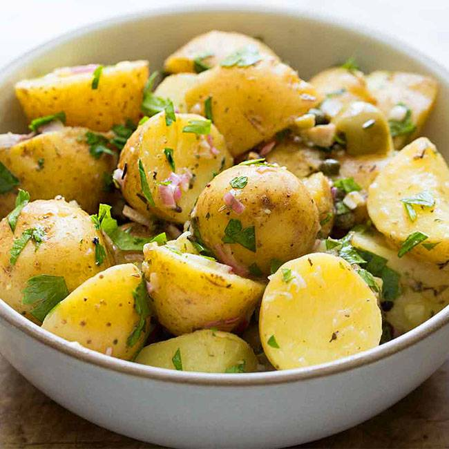Salada-Simples-de-Batata Salada Simples de Batata