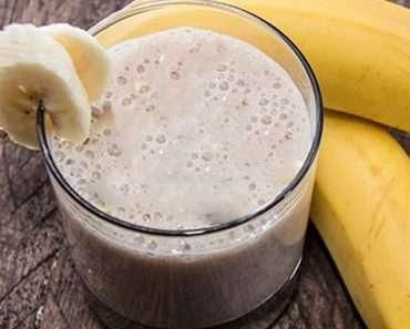 Shake de Banana e Ameixa Para Emagrecer