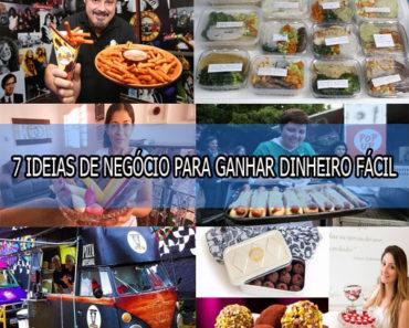 7 IDEIAS DE NEGÓCIO PARA GANHAR DINHEIRO FÁCIL