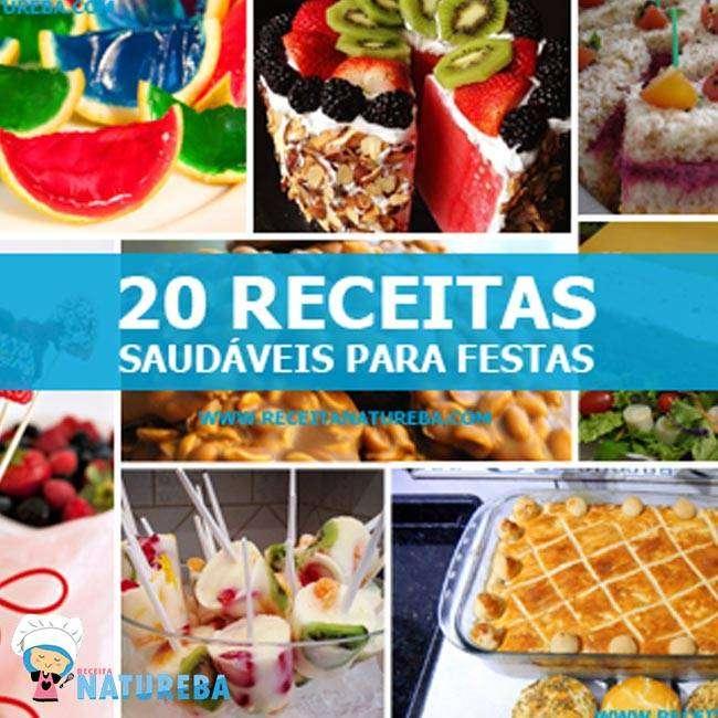 1-1 20 Receitas Saudáveis Para Festas