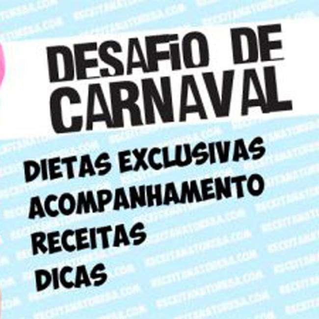 1-5 CARDÁPIO PARA O DESAFIO DE CARNAVAL - FASE 1