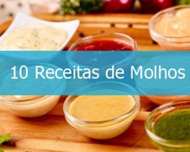 10 Receitas de Molhos Para Saladas