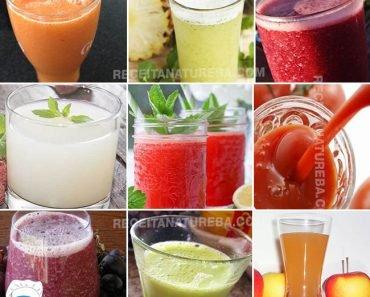 15 Opções de Suco Detox