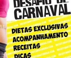 CARDÁPIO PARA O DESAFIO DE CARNAVAL – FASE 2