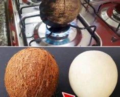 Como Descascar Coco de Maneira Fácil
