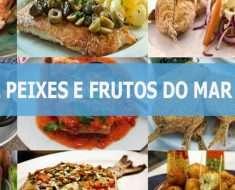 Especial Peixes e Frutos do Mar