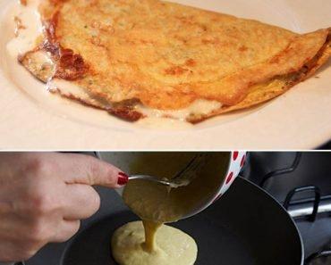 Omelete de Aveia Nutritivo