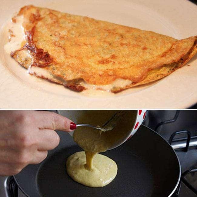 Omelete-de-Aveia-Nutritivo Omelete de Aveia Nutritivo