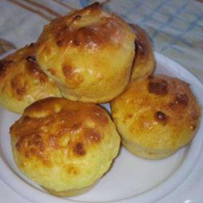 Pão Doce de Baunilha da Marcia
