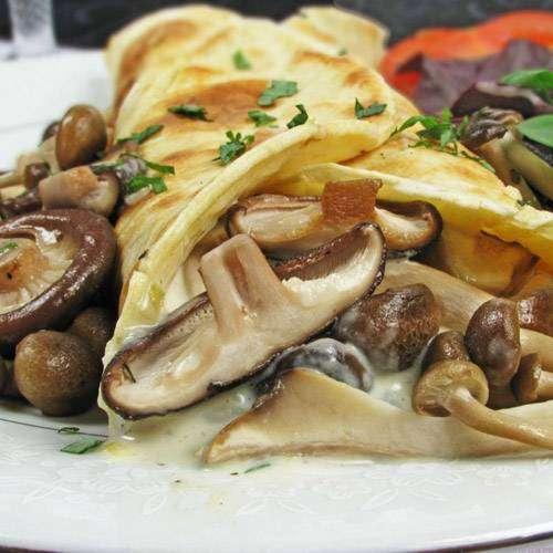 champignon 12 Recheios Para Panqueca