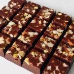 Barrinhas de Chocolate com Café