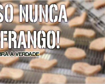Nuggets Apenas 20% de Frango! Veja o que são os outros 80%