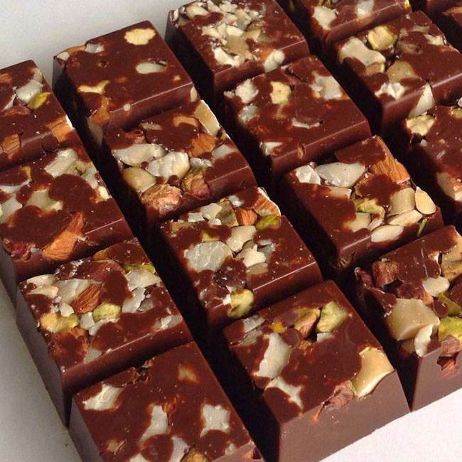 Barrinhas-de-Chocolate-com-Café Barrinhas de Chocolate com Café