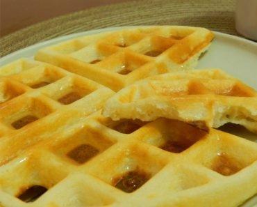 Massa de Waffle e Panqueca Sem Glúten