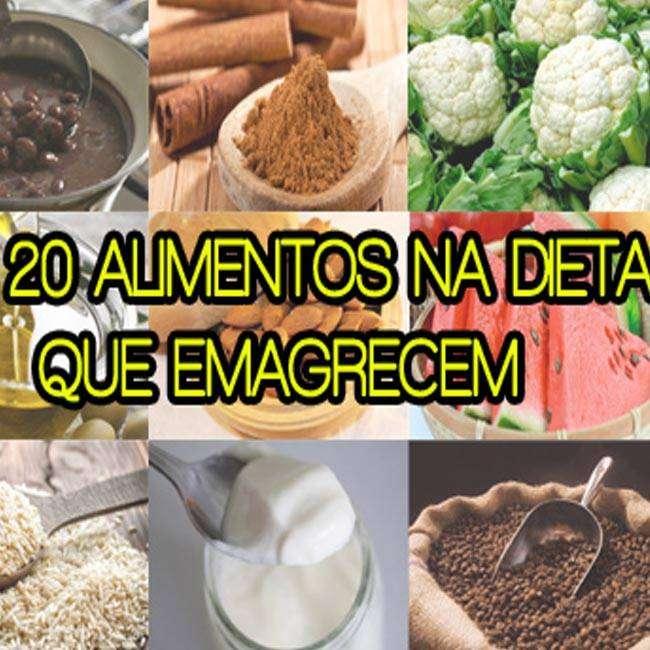 Os-20-Alimentos-na-Dieta-que-Emagrecem Os 20 Alimentos na Dieta que Emagrecem