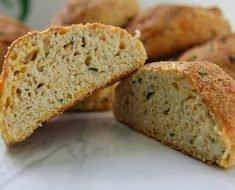 Pão de Cebola Vegano
