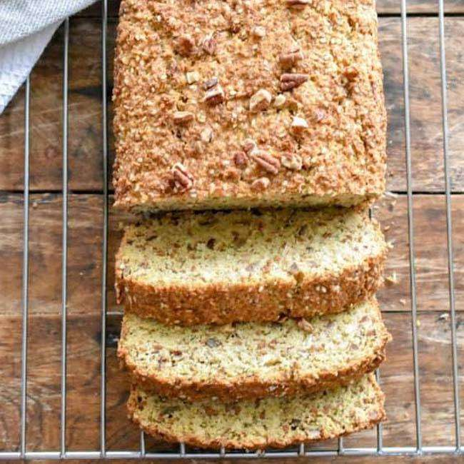 Pão-de-Fibras-Nutritivo-Sem-Glúten Pão de Fibras, Nutritivo Sem Glúten