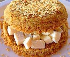 Pão de Hambúrguer Low Carb Rápido