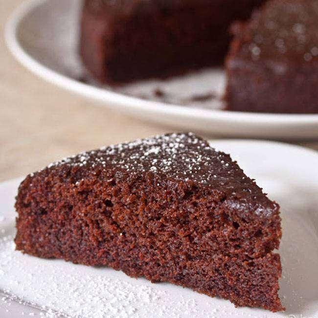 Pão-de-Ló-de-Chocolate Pão de Ló de Chocolate