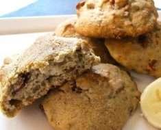 Receita Fácil de Cookies de Banana