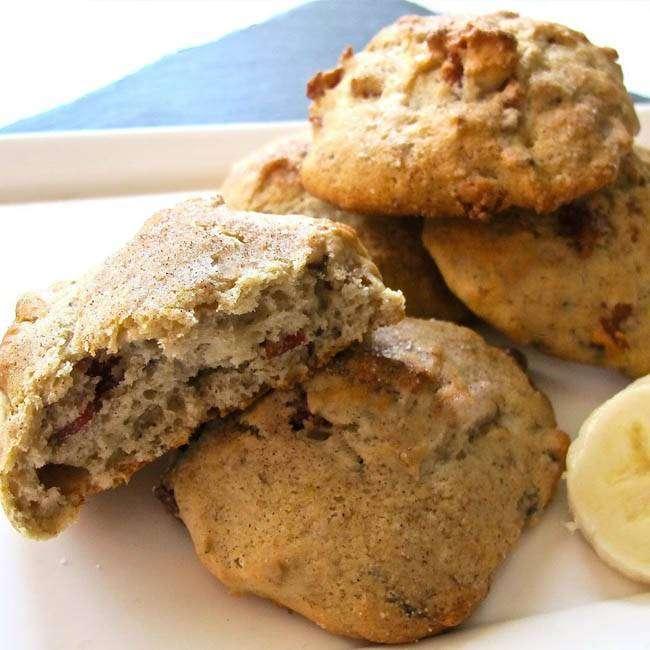 Receita-Fácil-de-Cookies-de-Banana Receita Fácil de Cookies de Banana