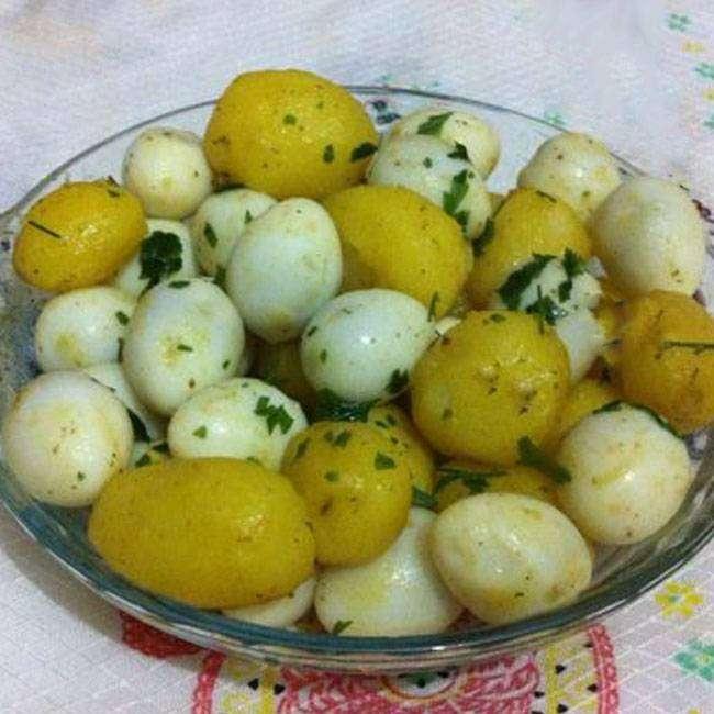Salada-de-Ovos-com-Batatas Salada de Ovos com Batatas