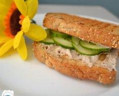 Sanduíche com Patê de Atum