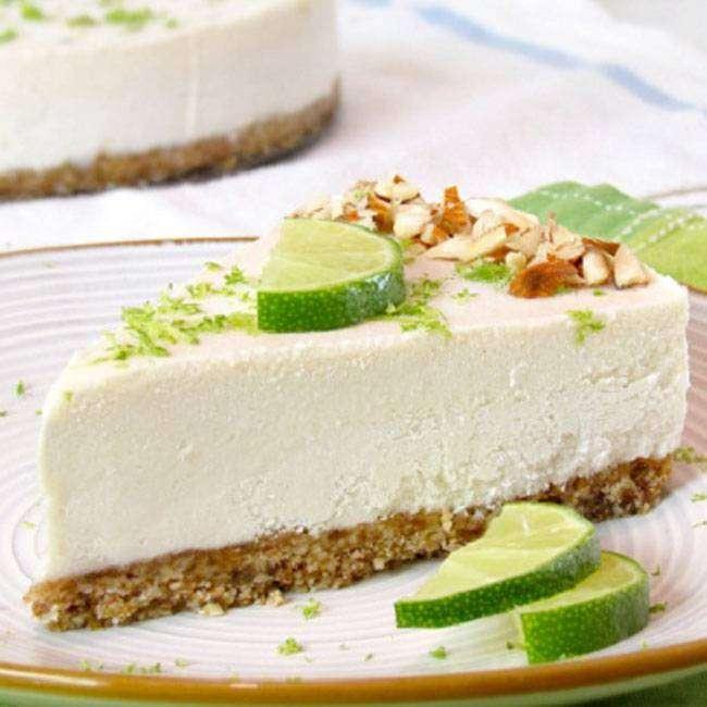 Torta-de-Limão-Cremosa-Light Torta de Limão Cremosa Light