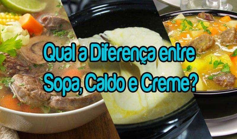 00 Qual a Diferença entre Sopa, Caldo e Creme? Veja!