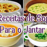 5 Receitas de Sopas Para o Jantar