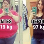 Cansada do Sedentarismo, Mulher Emagrece 115 kg em 1 Ano