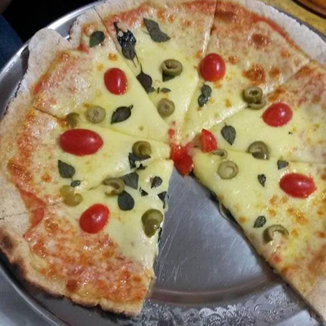 Massa de Pizza 100% Integral
