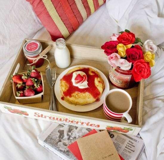 bandeija Café da Manhã Para o Dia das Mães