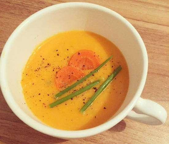 creme-de-cenoura_depoisdecasada 5 Receitas de Sopas Para o Jantar