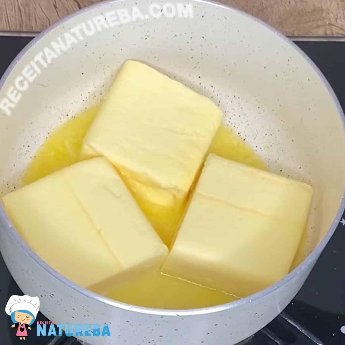 manteiga-na-panela-derrentendo Como Fazer Manteiga Ghee