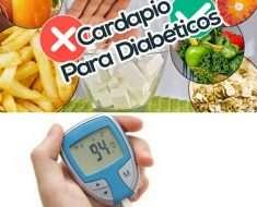 Cardápio Para Diabéticos