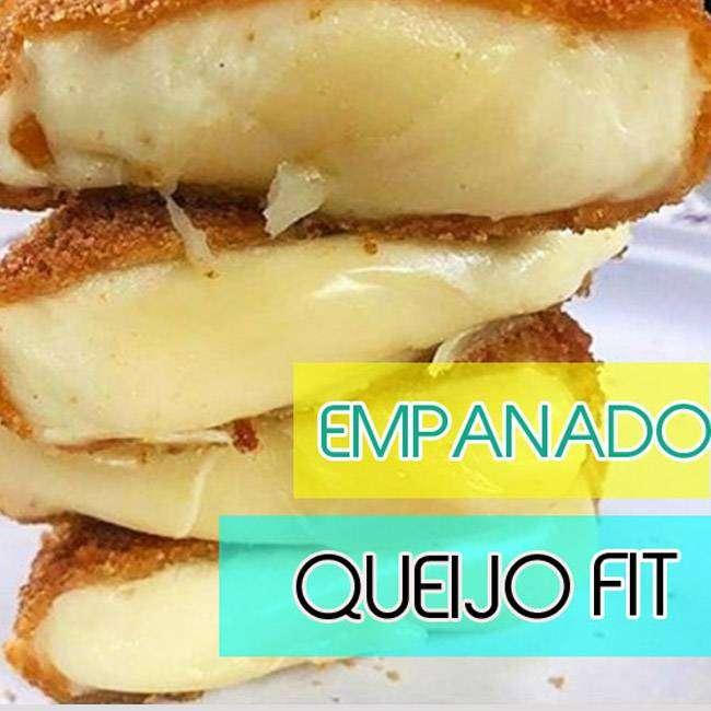 Empanado-de-Queijo-Fit Empanado de Queijo Fit