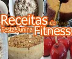 7 Receitas de Festa Junina Fitness